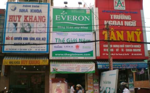 Làm bảng quảng cáo giá rẻ, đẹp, uy tín ở đâu tại TP.Hồ Chí Minh