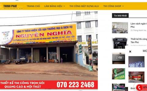 Top Cty Quảng Cáo Sao Chép Hình Ảnh & Nội Dung Từ Website Phan Gia