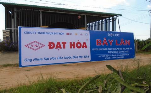 Thi Công Chuỗi Bảng Hiệu Quảng Cáo Tại Bình Thuận