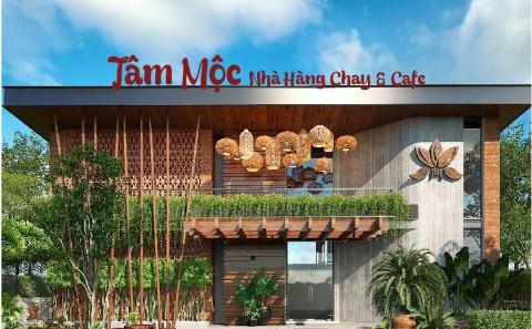 Làm Chữ Nổi Alu Đèn Led Nhà Hàng Chay Và Cafe Tâm Mộc