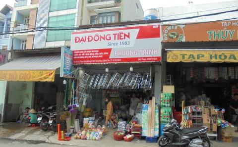 Chuỗi Bảng Hiệu Quảng Cáo Công Ty Cổ Phần Đại Đồng Tiến Tại TP. Hồ Chí Minh
