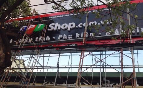 Mặt Dựng Alu Chữ Mica Siêu Thị Điện Thoại - Máy Tính FPT Shop