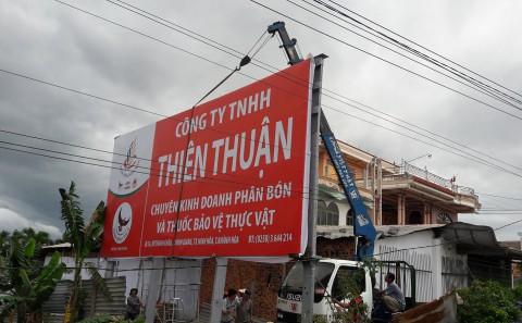 Làm Pano Đại Lý Phân Bón Thiên Thuận