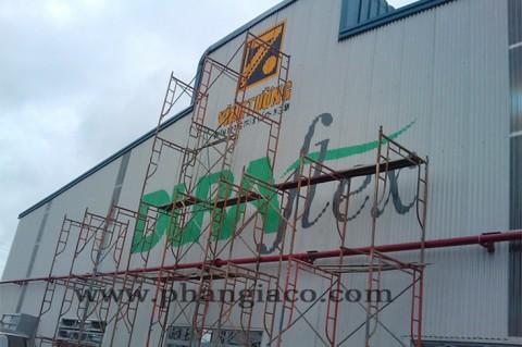 Nhận Sơn Vẽ Quảng Cáo, Vẽ Tường, Vẽ Logo Nhà Xưởng, Vẽ Tranh Cổ Động